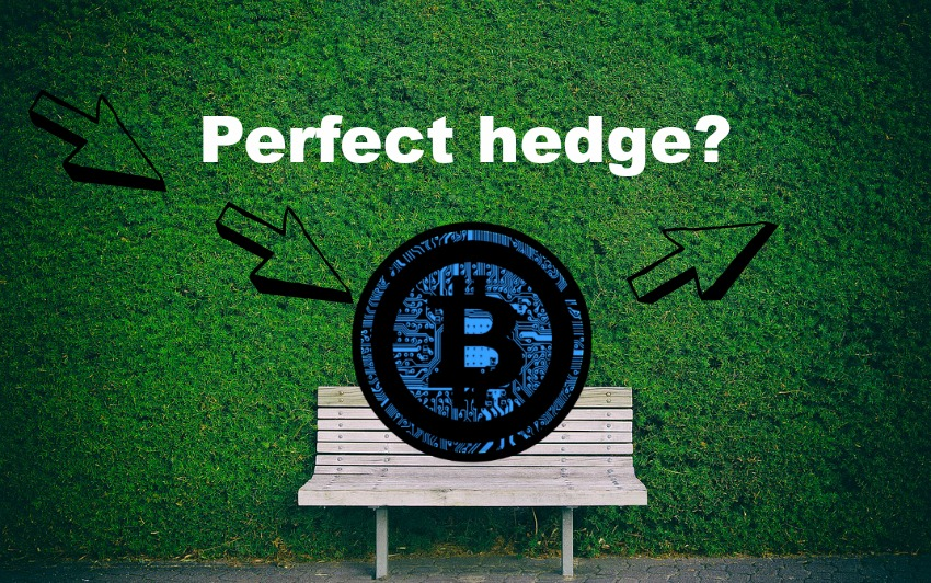 Bitcoin the perfect hedge?