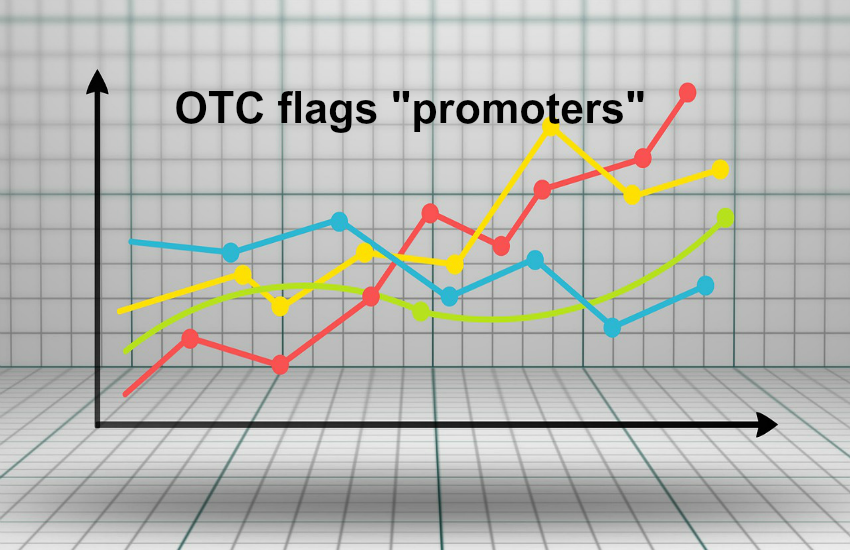 "OTC flags ""promoters"""