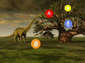 prehistoric views of cryptocurrency