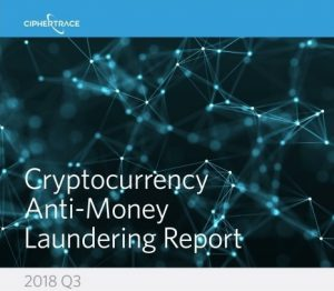 CipherTrace Cryptocurrency AML report