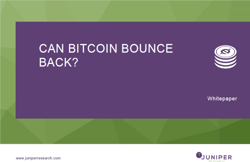 """Can bitcoin bounce back?"""