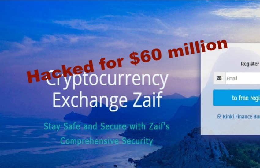 Zaif loses $60 million