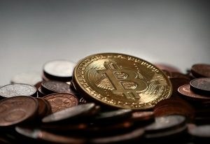 bitcoin down, cryptocurrency exchange profits up