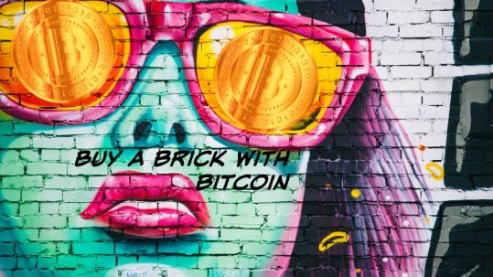 Buy a brick with bitcoin