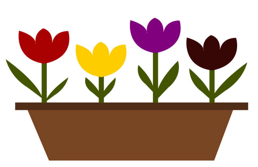 digital tulips